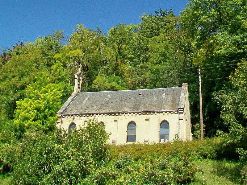 Photo du Monument Historique Chapelle Saint-Nicolas-du-Valhermeil (vestiges) situé à Auvers-sur-Oise