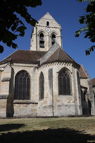 Photo du Monument Historique Eglise Notre-Dame situé à Auvers-sur-Oise