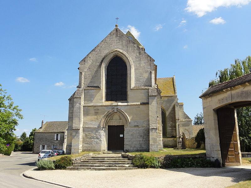 Photo du Monument Historique Eglise Sainte-Marie-Madeleine situé à Bellay-en-Vexin (Le)
