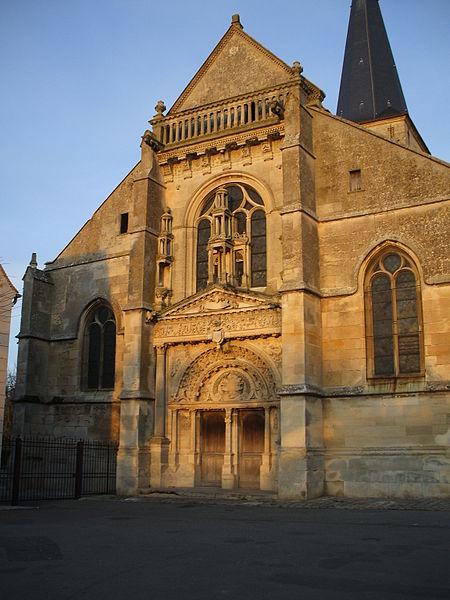 Photo du Monument Historique Eglise Saint-Georges situé à Belloy-en-France