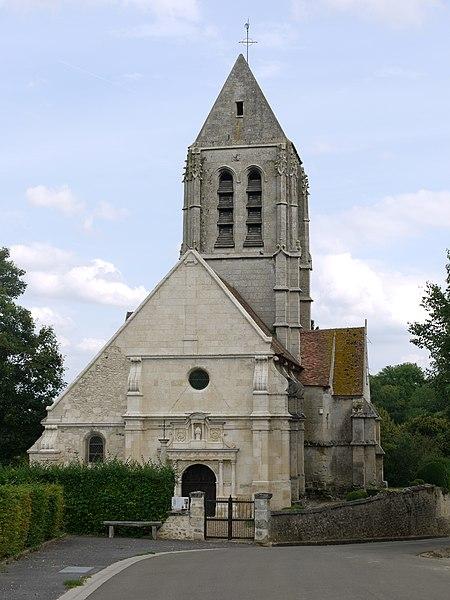 Photo du Monument Historique Eglise Saint-Denis situé à Berville
