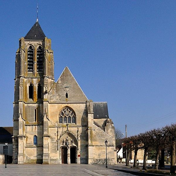 Photo du Monument Historique Eglise Saint-Gervais et Saint-Protais situé à Bessancourt