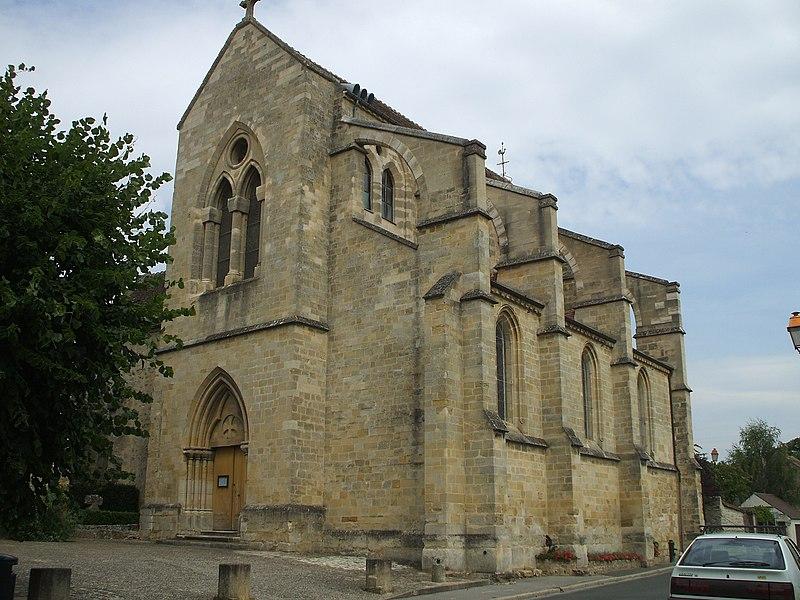 Photo du Monument Historique Eglise Saint-André situé à Boissy-l'Aillerie