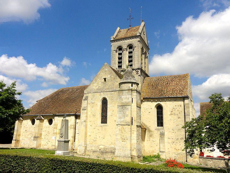 Photo du Monument Historique Eglise Saint-Crépin-Saint-Crépinien situé à Bréançon