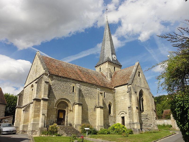 Photo du Monument Historique Eglise situé à Brignancourt