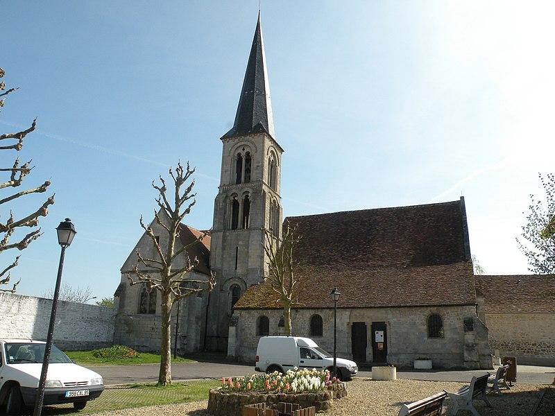 Photo du Monument Historique Eglise Saint-Vivien situé à Bruyères-sur-Oise