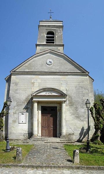 Photo du Monument Historique Eglise Saint-Martin situé à Châtenay-en-France