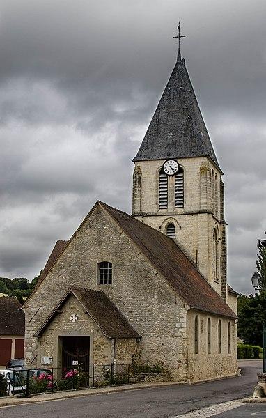 Photo du Monument Historique Eglise situé à Chaussy