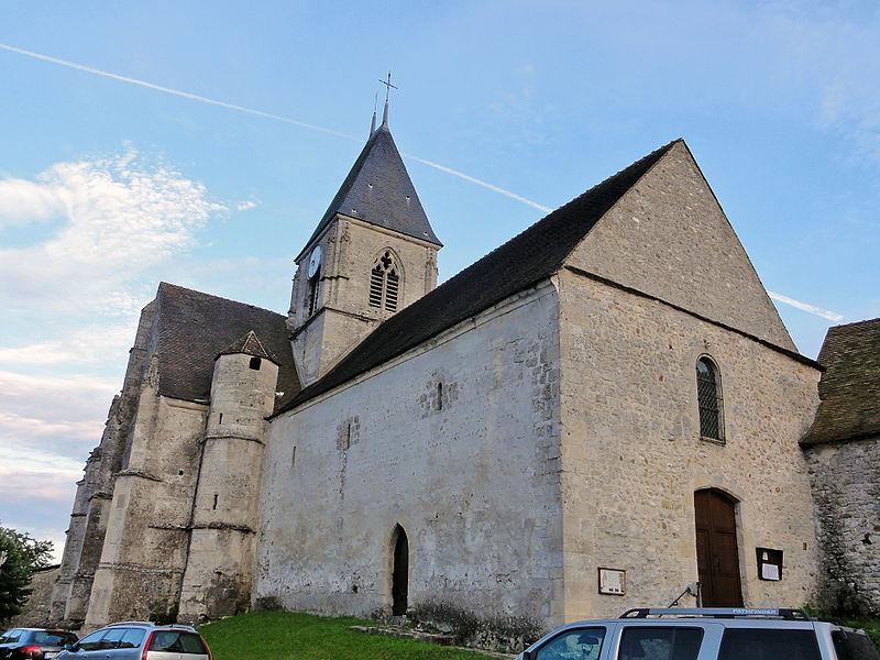 Photo du Monument Historique Eglise Saint-Denis situé à Chérence