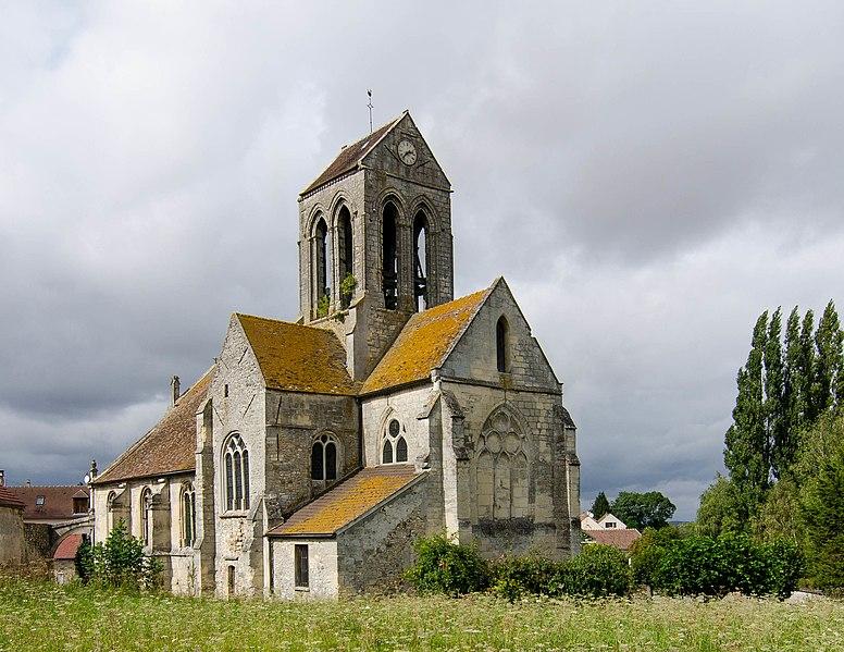 Photo du Monument Historique Eglise Saint-Germain-de-Paris situé à Cléry-en-Vexin