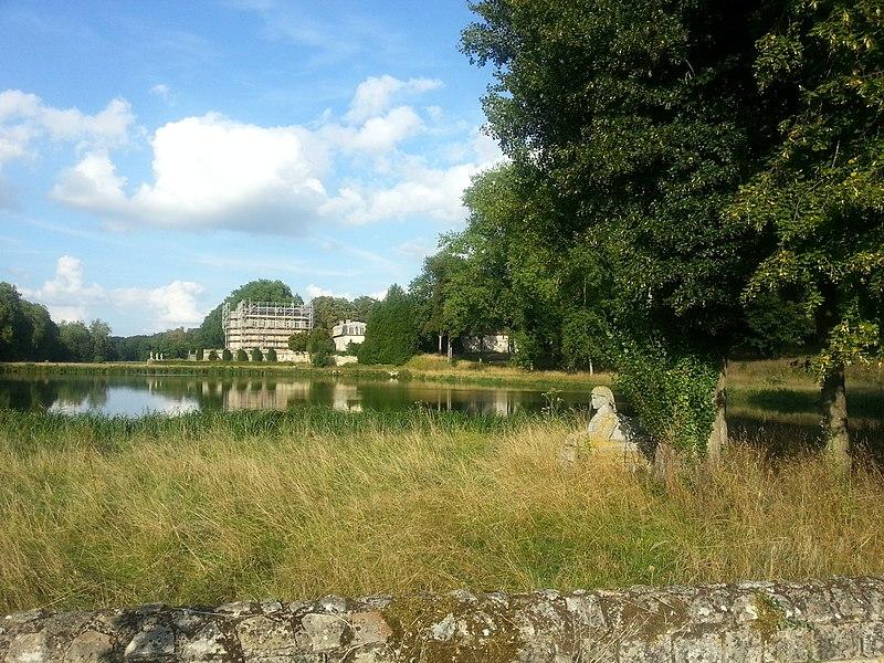 Photo du Monument Historique Château de Villette situé à Condécourt