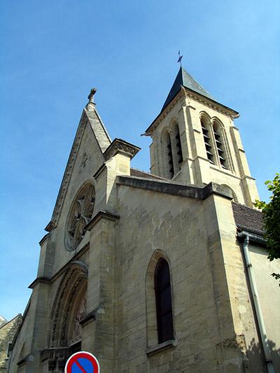 Photo du Monument Historique Eglise Saint-Martin situé à Cormeilles-en-Parisis