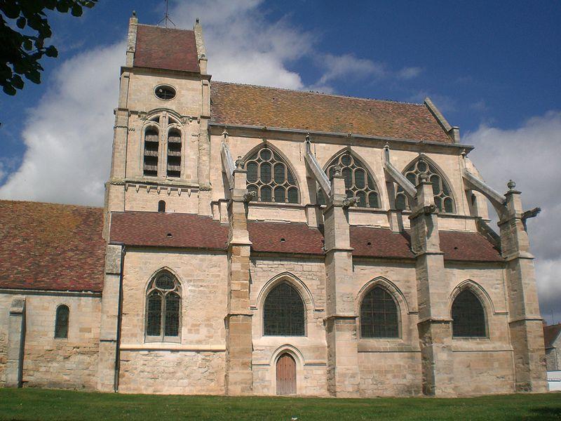 Photo du Monument Historique Eglise situé à Cormeilles-en-Vexin