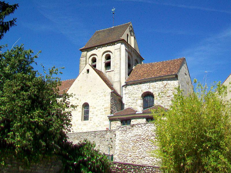 Photo du Monument Historique Eglise Saint-Martin situé à Courdimanche