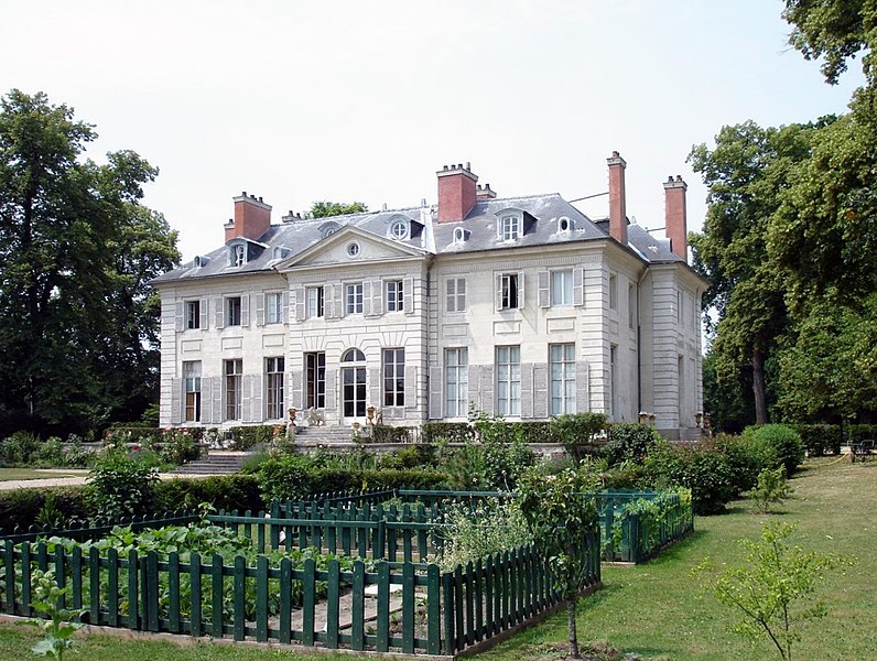 Photo du Monument Historique Château de la Chesnaye dit aussi de Meaux situé à Eaubonne