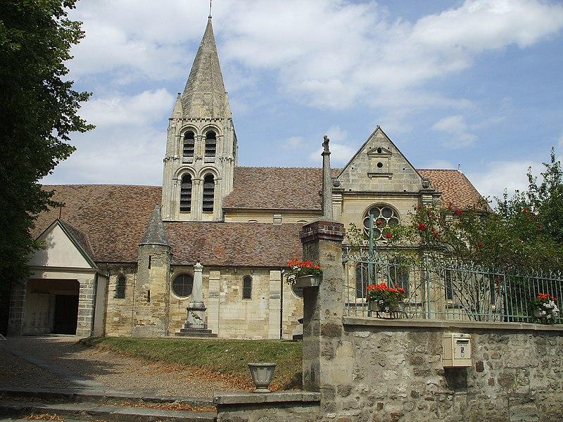 Photo du Monument Historique Eglise Saint-Aubin situé à Ennery