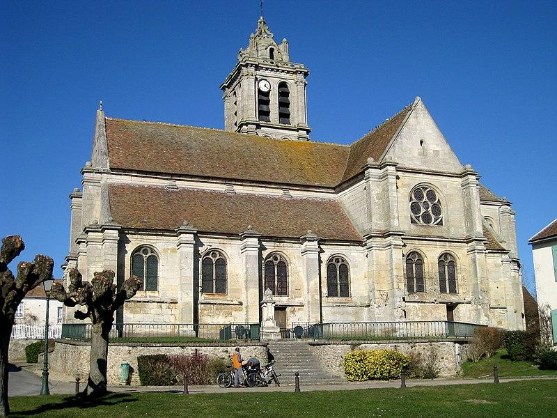 Photo du Monument Historique Eglise situé à Epiais-Rhus