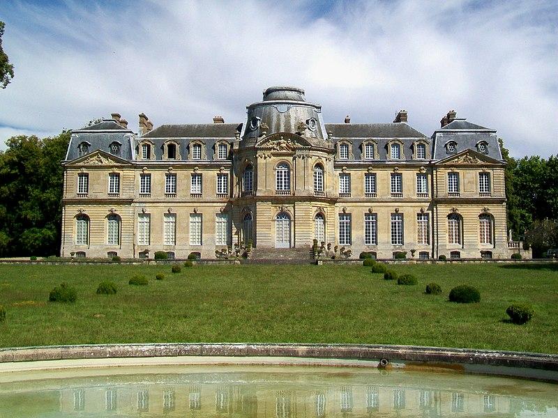 Photo du Monument Historique Domaine de Champlatreux situé à Epinay-Champlâtreux