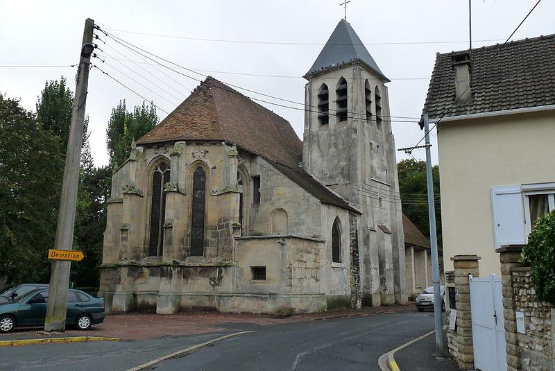 Photo du Monument Historique Eglise situé à Ezanville