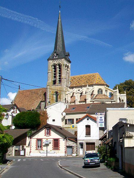 Photo du Monument Historique Eglise Saint-Aquillin situé à Fontenay-en-Parisis