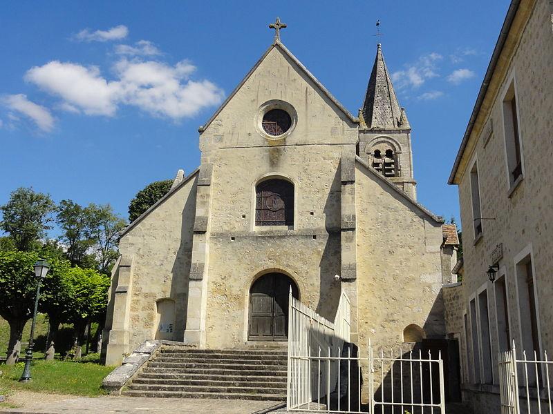 Photo du Monument Historique Eglise situé à Frouville