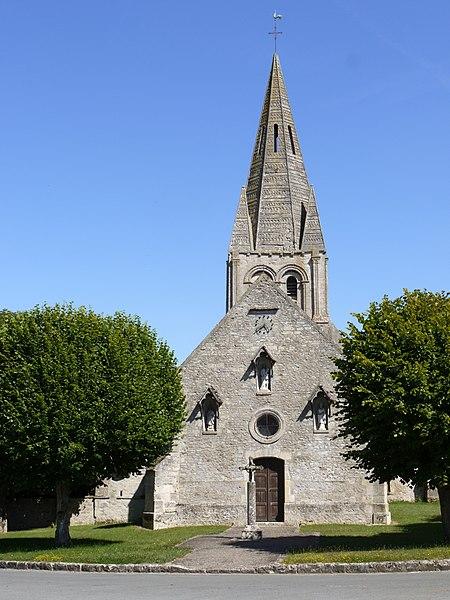 Photo du Monument Historique Eglise situé à Gadancourt