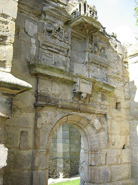 Photo du Monument Historique Eglise (restes de l'ancienne) situé à Génicourt