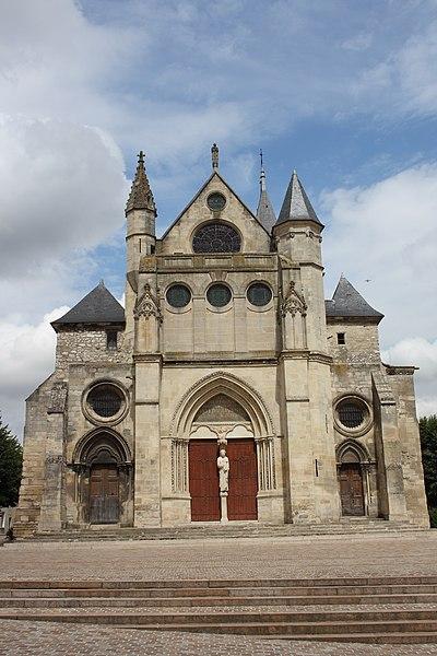 Photo du Monument Historique Eglise Saint-Pierre Saint-Paul situé à Gonesse