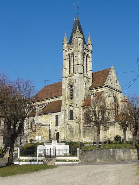 Photo du Monument Historique Eglise Saint-Pierre-Saint-Paul situé à Goussainville