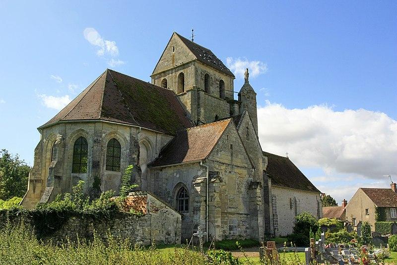 Photo du Monument Historique Eglise situé à Gouzangrez