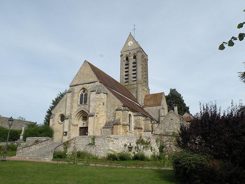 Photo du Monument Historique Eglise Saint-Caprais situé à Grisy-les-Plâtres