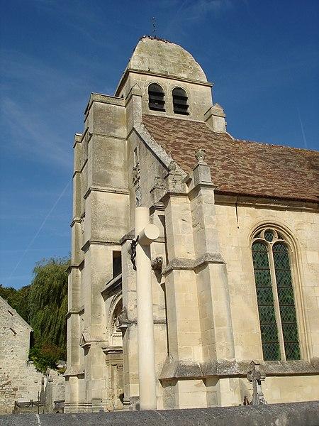 Photo du Monument Historique Eglise situé à Guiry-en-Vexin