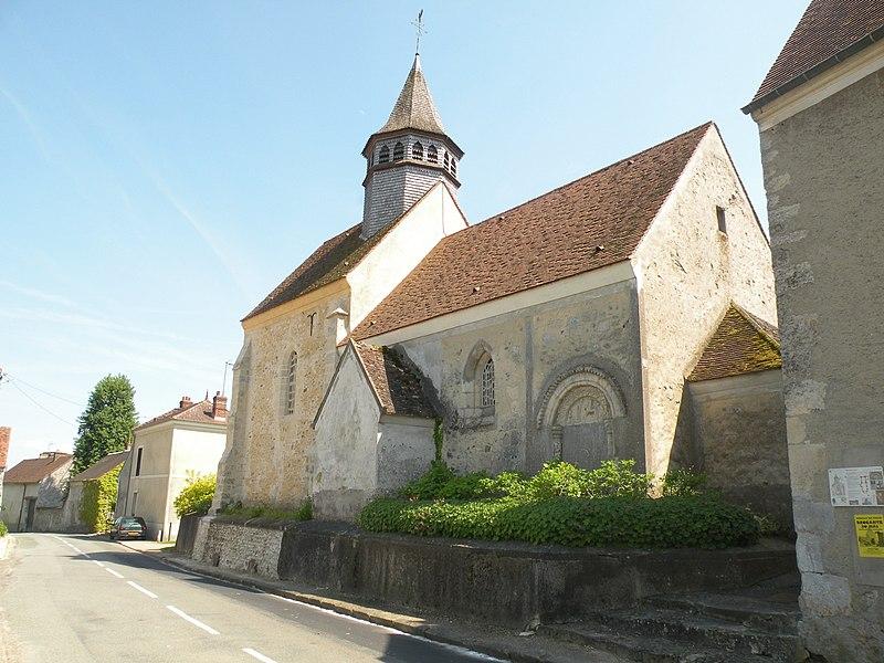 Photo du Monument Historique Eglise situé à Heaulme (Le)