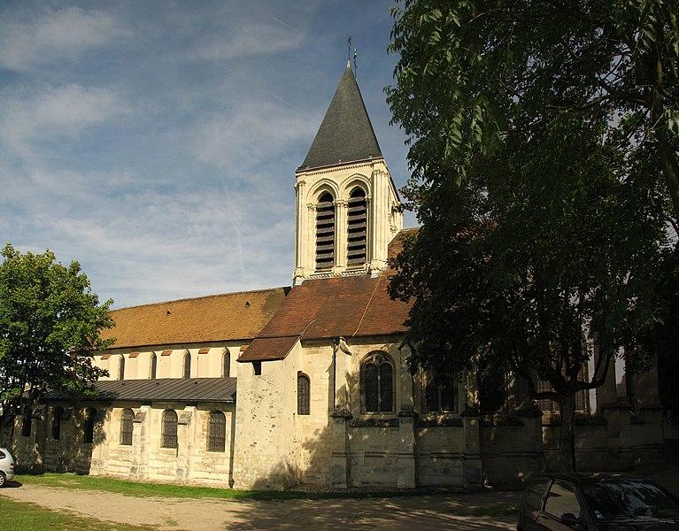 Photo du Monument Historique Eglise Saint-Martin situé à Herblay