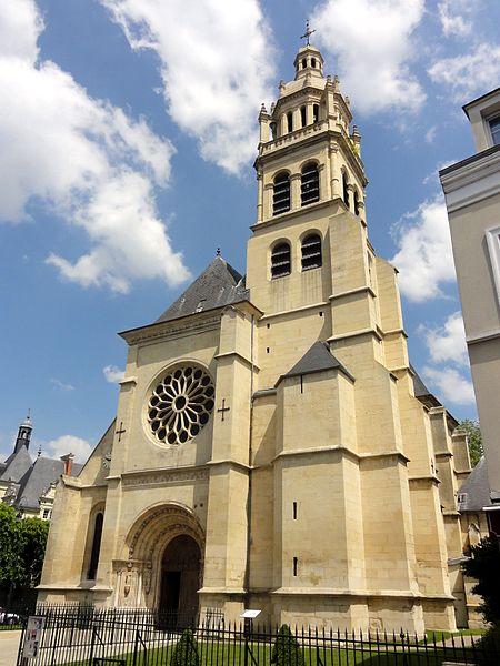Photo du Monument Historique Eglise Saint-Martin situé à Isle-Adam (L')
