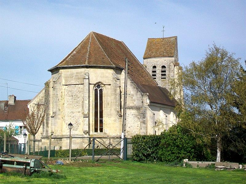 Photo du Monument Historique Eglise Saint-Léger situé à Jagny-sous-Bois