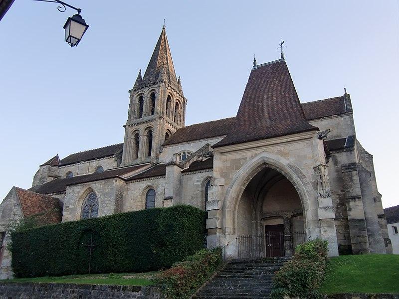 Photo du Monument Historique Eglise Notre-Dame situé à Jouy-le-Moutier