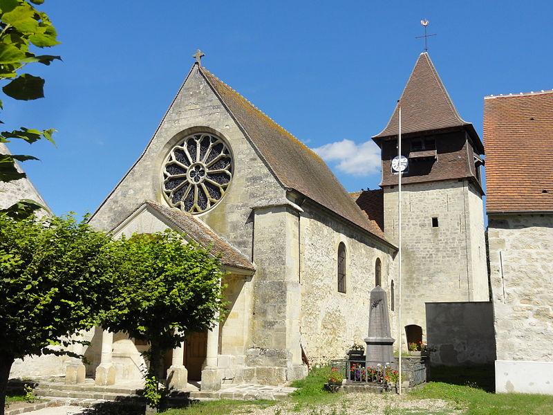 Photo du Monument Historique Eglise situé à Labbeville