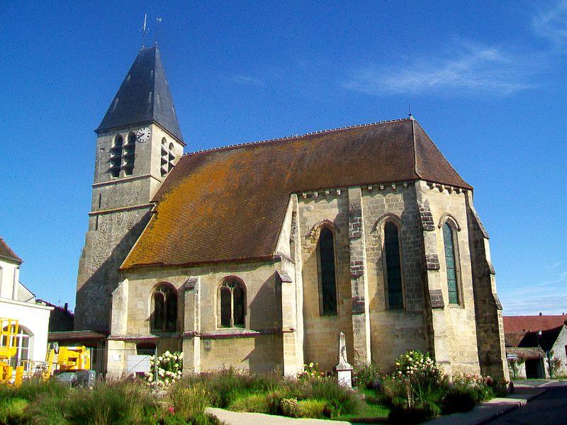 Photo du Monument Historique Eglise situé à Longuesse