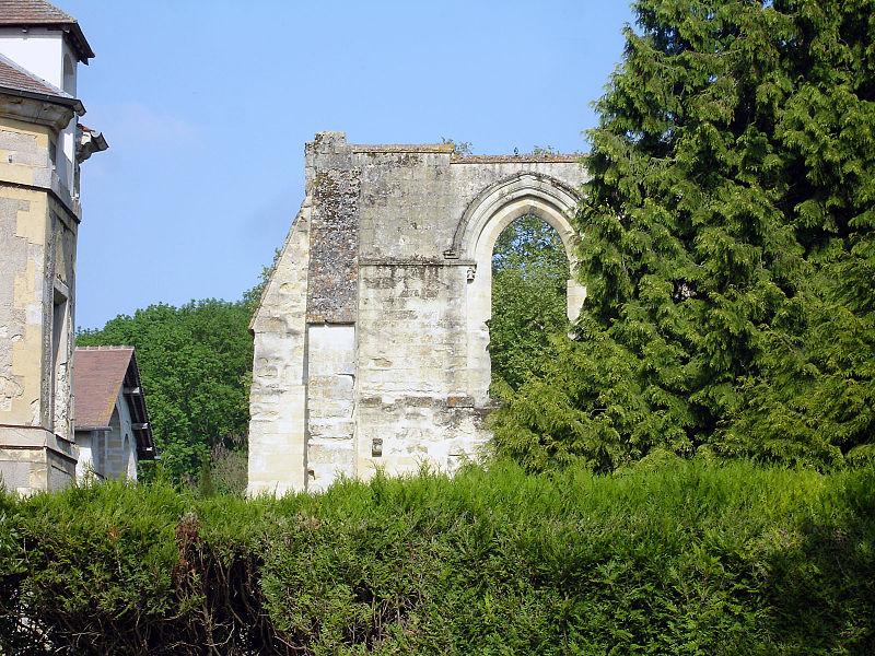 Photo du Monument Historique Abbaye d'Hérivaux situé à Luzarches