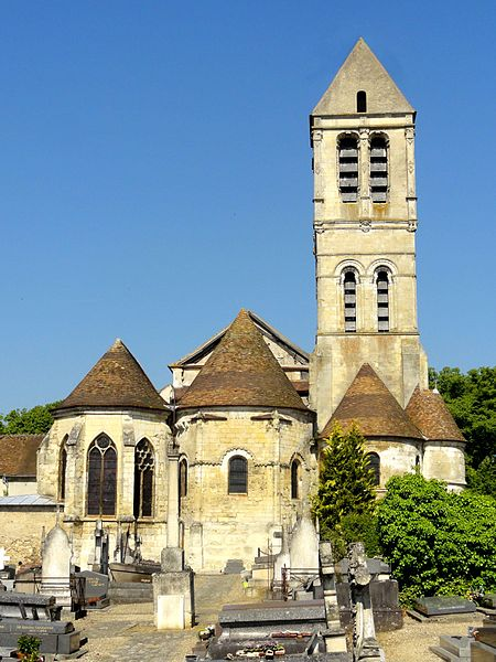 Photo du Monument Historique Eglise Saint-Côme-Saint-Damien situé à Luzarches