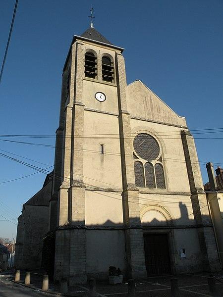 Photo du Monument Historique Eglise situé à Maffliers
