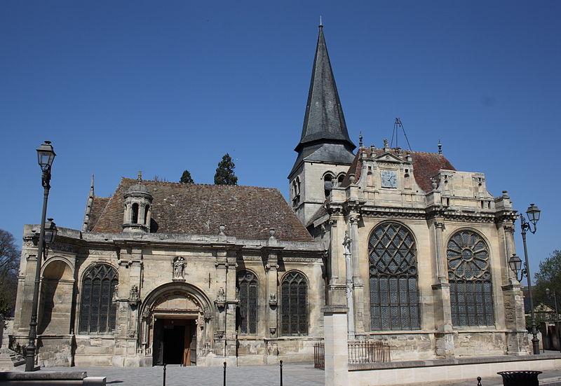 Photo du Monument Historique Eglise situé à Magny-en-Vexin