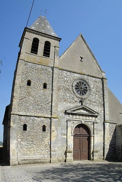 Photo du Monument Historique Eglise Saint-Martin situé à Mareil-en-France