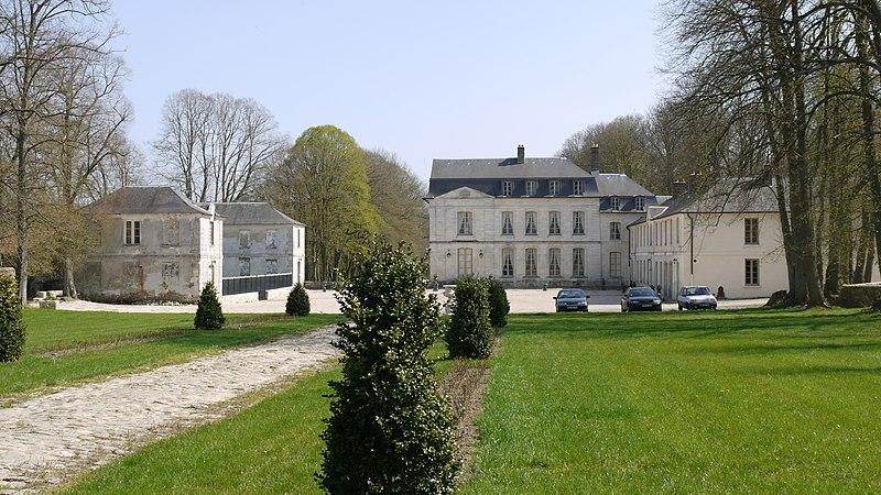 Photo du Monument Historique Château situé à Maudétour-en-Vexin