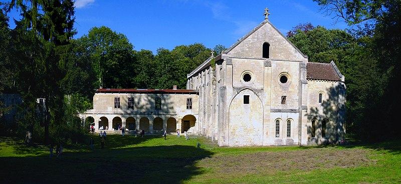 Photo du Monument Historique Abbaye du Val situé à Mériel