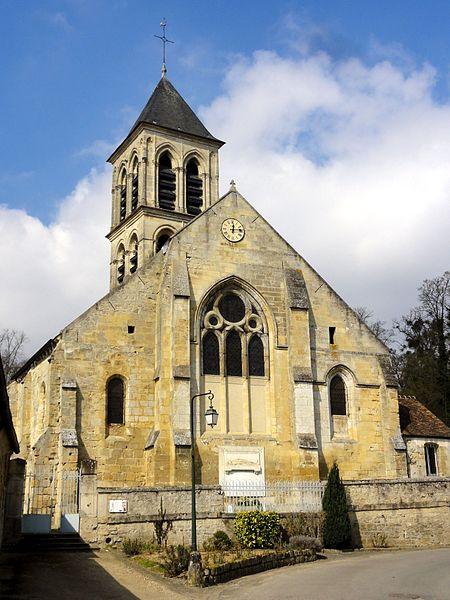 Photo du Monument Historique Eglise situé à Montgeroult