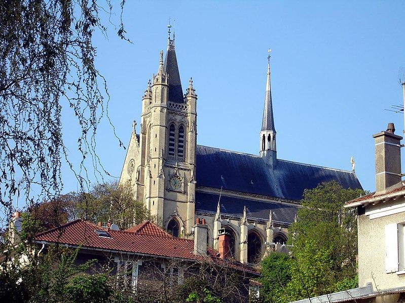 Photo du Monument Historique Eglise Saint-Martin situé à Montmorency