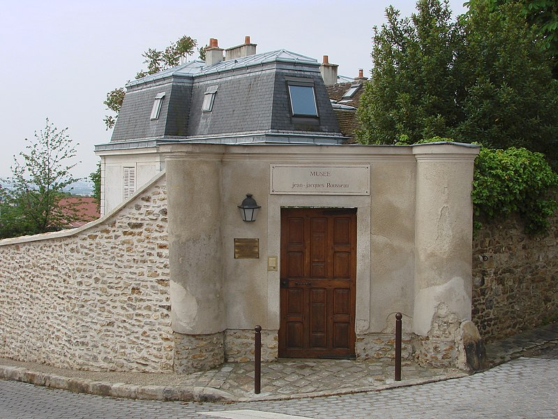 Photo du Monument Historique Maison de Jean-Jacques Rousseau et Maison des Commères situé à Montmorency