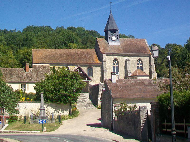 Photo du Monument Historique Eglise situé à Montreuil-sur-Epte